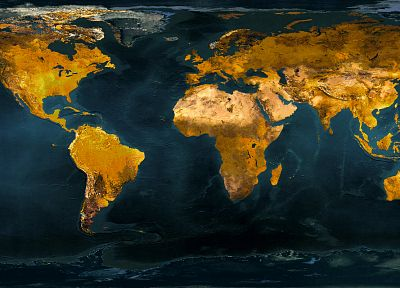 Earth, maps, world map - random desktop wallpaper