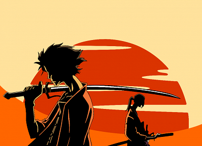 Samurai Champloo, Mugen, anime, anime boys, swords, weaponry - related desktop wallpaper