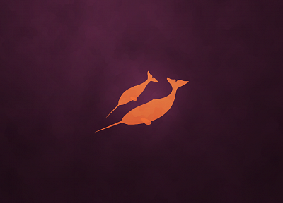 Ubuntu, Ubuntu 11.04 Natty Narwhal - desktop wallpaper