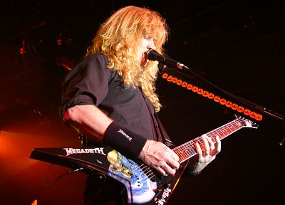 music, Megadeth, Heavy Metal, Dave Mustaine - random desktop wallpaper