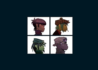 Gorillaz, demons, Murdoc, Russel, Noodle - related desktop wallpaper