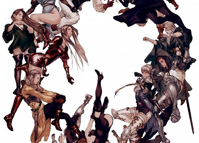 artwork, Yoshida Akihiko, Tactics Ogre - random desktop wallpaper