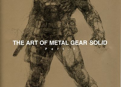 Metal Gear, video games, Metal Gear Solid - desktop wallpaper