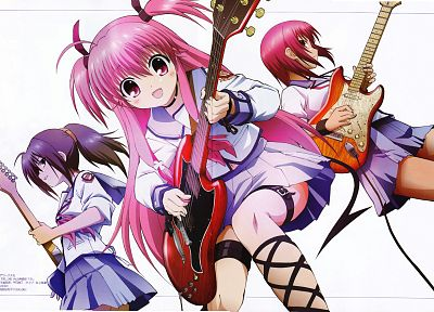 Angel Beats!, Hisako, Yui (Angel Beats), Iwasawa Masami - desktop wallpaper