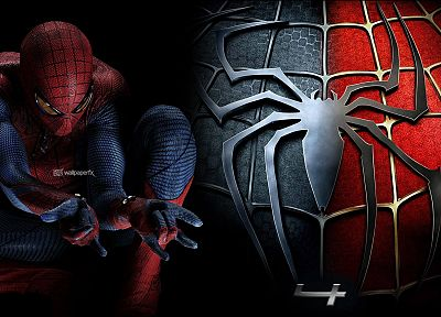 movies, Spider-Man, The Amazing Spider-man, Spider-man logo - related desktop wallpaper