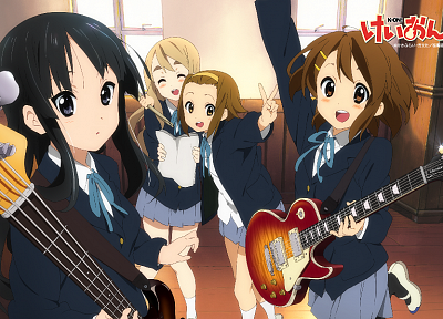 K-ON!, anime girls - random desktop wallpaper