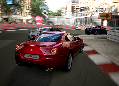cars, Ferrari, vehicles, Ferrari 599 - random desktop wallpaper