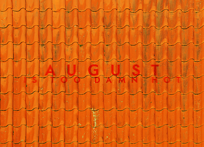August, rooftops - desktop wallpaper