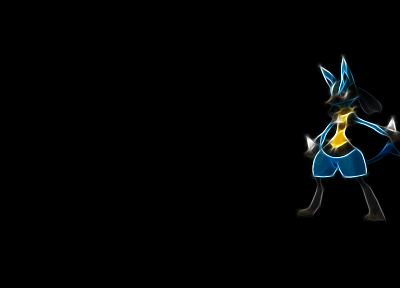 Pokemon, black background - related desktop wallpaper
