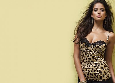 brunettes, women, Carla Ossa - desktop wallpaper