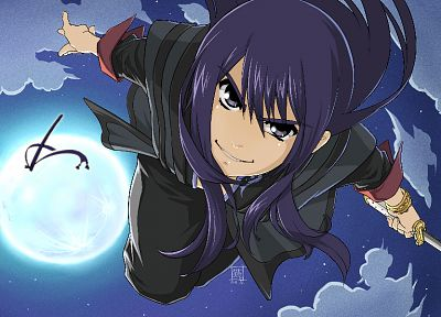 video games, Moon, Tales Of Vesperia, Yuri Lowell, skies - random desktop wallpaper