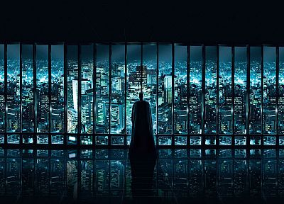 Batman, Gotham City - random desktop wallpaper
