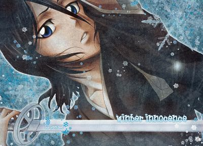 Bleach, Kuchiki Rukia, soft shading, Sode no Shirayuki - random desktop wallpaper