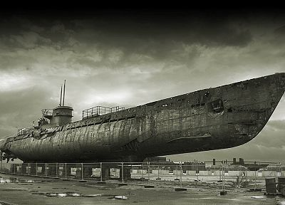 military, submarine, ships, navy, boats, battles, vehicles, u-boat - random desktop wallpaper