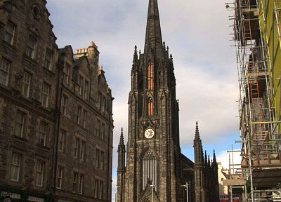 cityscapes, buildings, Scotland, Edinburgh - related desktop wallpaper