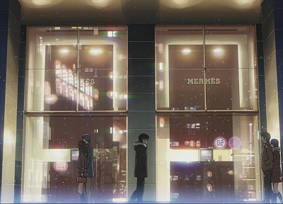 Makoto Shinkai, 5 Centimeters Per Second, artwork, anime - random desktop wallpaper