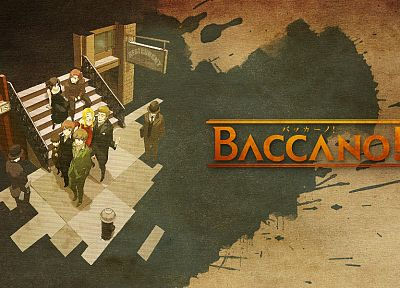 Baccano!, anime - desktop wallpaper