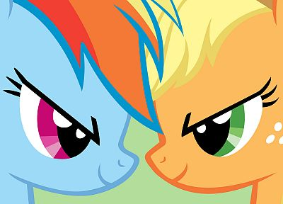 Rainbow Dash, Applejack, My Little Pony: Friendship is Magic - random desktop wallpaper