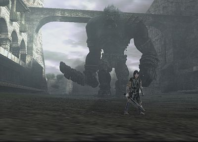 video games, Shadow of the Colossus - desktop wallpaper