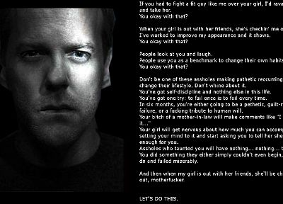 text, Kiefer Sutherland - random desktop wallpaper