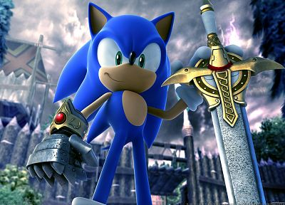 Sonic the Hedgehog, video games, 3D - random desktop wallpaper