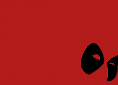 Deadpool Wade Wilson, Marvel Comics, red background - desktop wallpaper