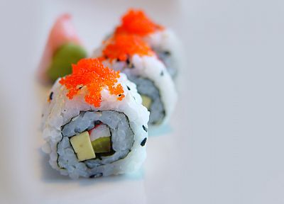 food, sushi, Maki roll - related desktop wallpaper