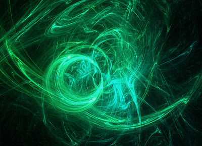 light, green, abstract, blue, circles, glow - related desktop wallpaper