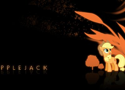 My Little Pony, Applejack - related desktop wallpaper