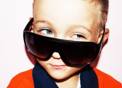 sunglasses, children - desktop wallpaper