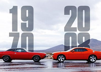 2008, Dodge Challenger, 1970 - random desktop wallpaper