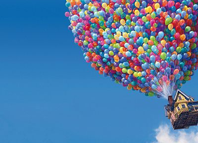 Pixar, Up (movie), balloons - random desktop wallpaper