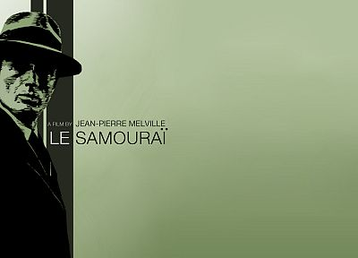 movies, monochrome, Le samourai - related desktop wallpaper