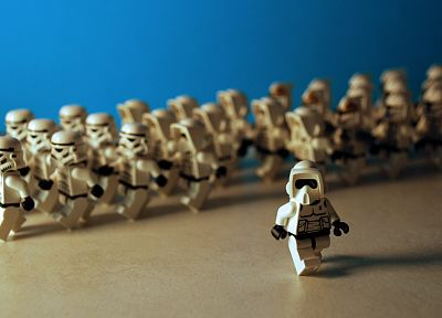 Star Wars, stormtroopers, Legos - random desktop wallpaper