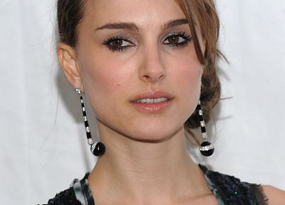 brunettes, women, actress, Natalie Portman, brown eyes - related desktop wallpaper