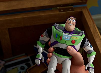 Toy Story, Buzz Lightyear - desktop wallpaper