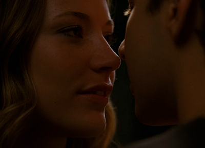 kissing, romantic, Sarah Roemer, Shia Labeouf, Disturbia, screens - random desktop wallpaper