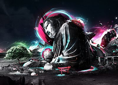 Buddha - random desktop wallpaper