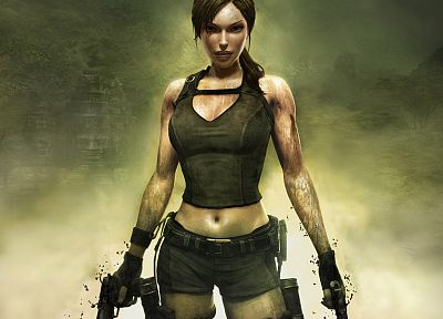 video games, Tomb Raider, Lara Croft, digital art - related desktop wallpaper
