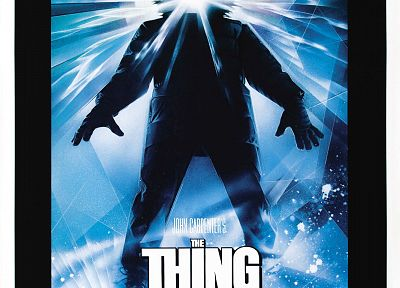 The Thing, movie posters - random desktop wallpaper