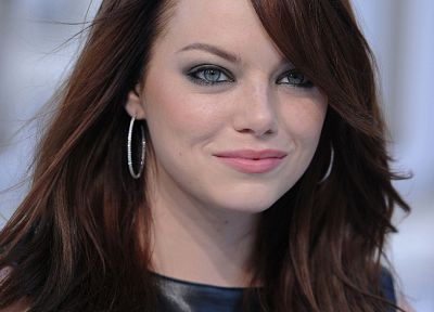 women, Emma Stone - duplicate desktop wallpaper