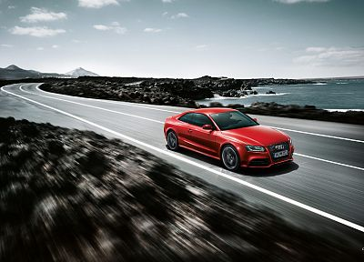 cars, Audi RS5 - random desktop wallpaper