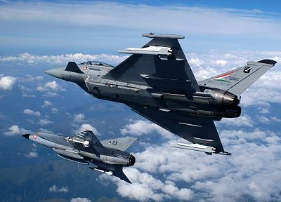 aircraft, Eurofighter Typhoon, planes - desktop wallpaper