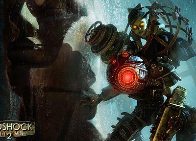 BioShock, die, big sister, BioShock 2 - popular desktop wallpaper