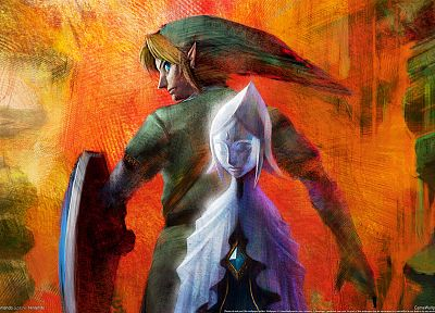 The Legend of Zelda, Skyward Sword - random desktop wallpaper