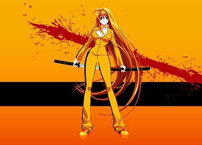 Kill Bill, Natsume Aya - desktop wallpaper