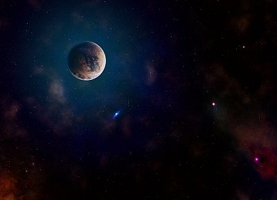 outer space, Earth, photo manipulation - related desktop wallpaper