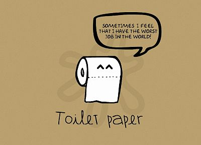 paper, funny, toilet paper - desktop wallpaper