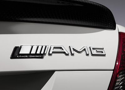 close-up, black, cars, AMG, series, logos, Mercedes-Benz, Mercedes Benz C63 Black Series, taillights - related desktop wallpaper