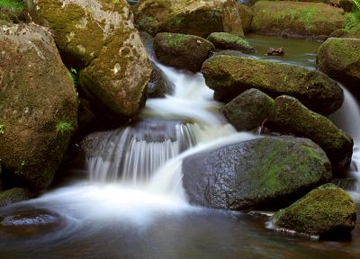 nature, rocks, streams - random desktop wallpaper